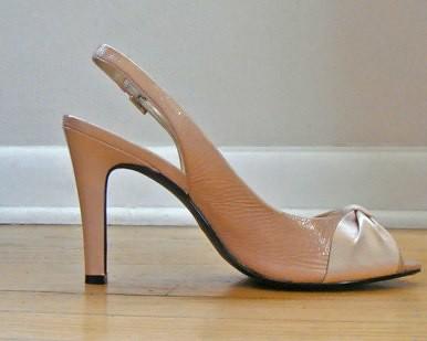 FIzzs last purchase: pale pink leg-extender shoes