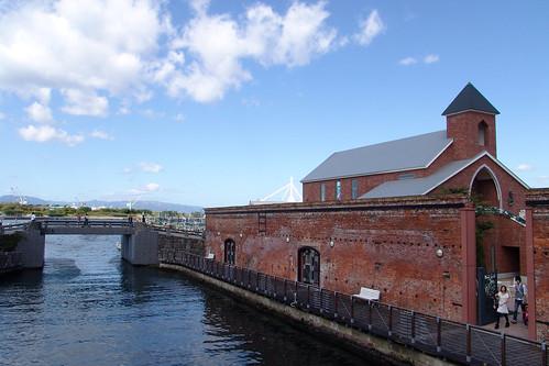 KANEMORI red brick warehouse.