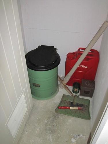 Chop Gate ROC Bunker - Toilet