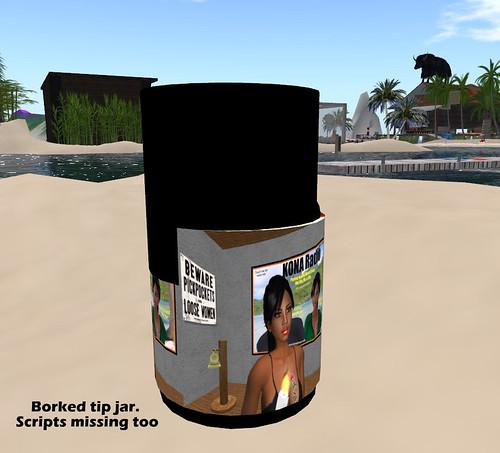 Borked Tip Jar