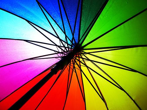 The Rainbow in the Rain