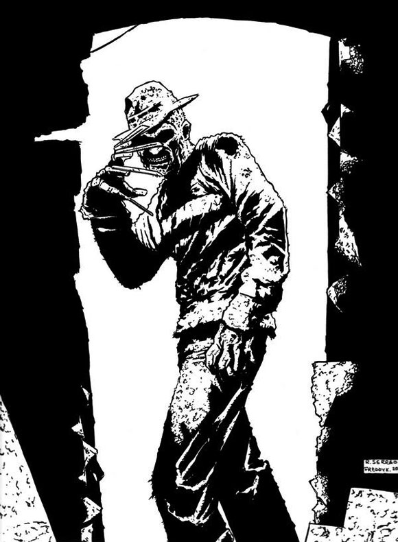 richard-serrrao-midnight-freddie-krueger-pen-and-ink-finished