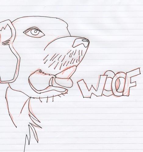 Woof (rough sketch)