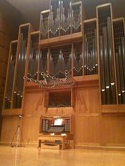 Marcussen Organ, Wiedemann Hall, Wichita State University