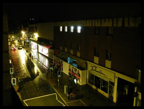 Rainy morning, Castle Street