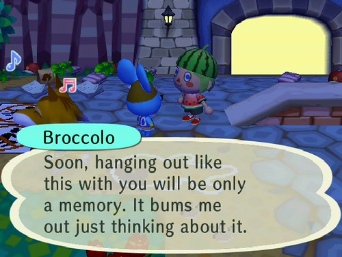 Dont go, Broccolo!