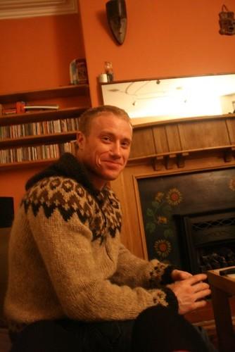 Ben at home
