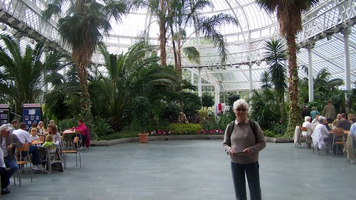 The wintergarden at the peoples palace