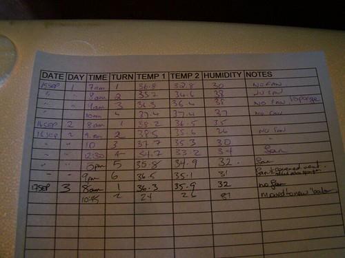 Record Sheet