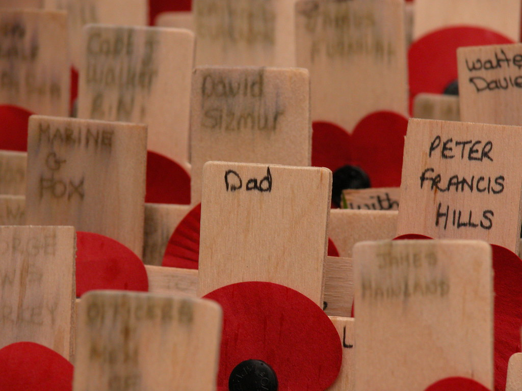 Dad, Field of Remembrance, 2009