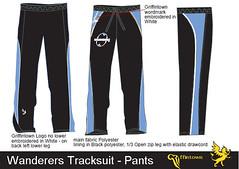 Wanderers Tracksuit - Pants