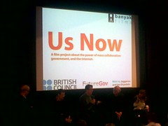 Us Now UK panel