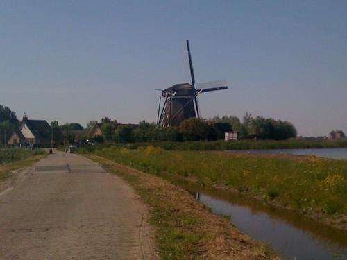 Working windmill - Spaarndam