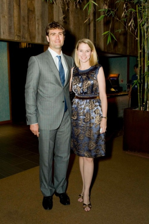 Zachary Bogue and Marissa Mayer