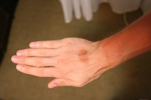 The bike glove tan