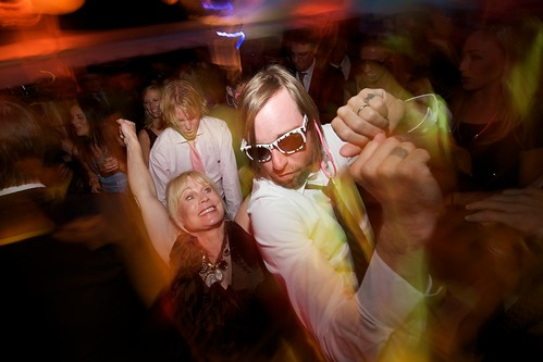 Floor dancing.