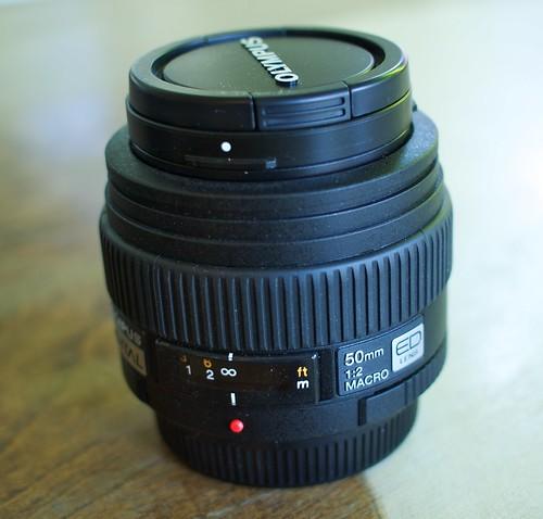 Olympus Zuiko 50mm f/2 Macro Lens