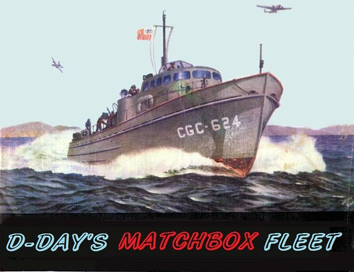 D-Day's Matchbox Fleet