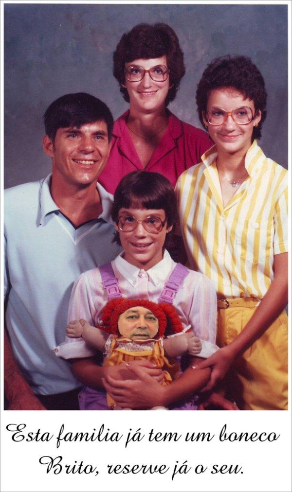 familia boneco brito r