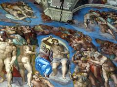 Michelangelo - The Last Judgment, Sistine Chap...