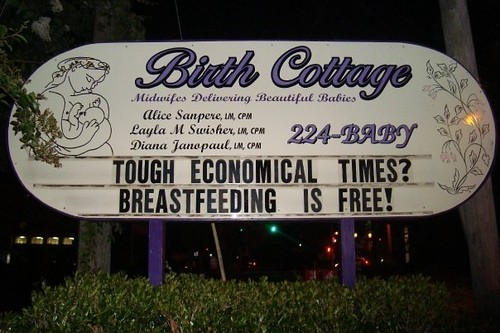breastfeeding is free