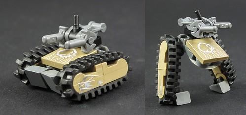 LEGO tranforming tank
