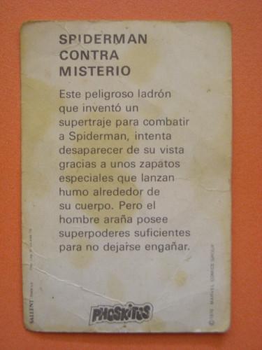 spider-man vs misterio ficha por ti.