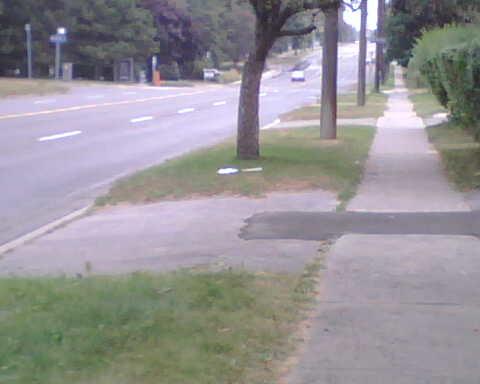 Walking down lawrence