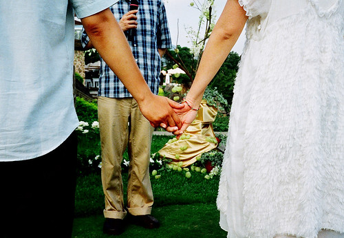 [DD's wedding] 牽手