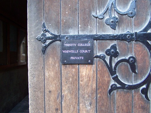 Whewells Court, Trinity College, University of Cambridge