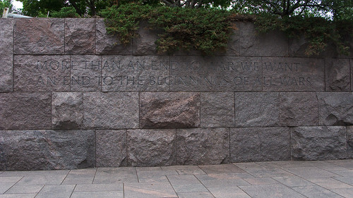 7058 Franklin Delano Roosevelt Memorial, Washington, DC