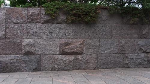 7058 Franklin Delano Roosevelt Memorial, Washington, DC