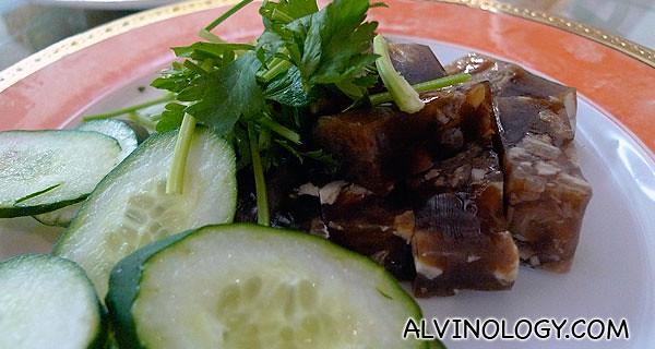 猪脚冻 - one of my late maternal grandfather's favourite food