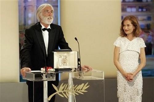 Michael haneke y Isabelle Huppert por ti.