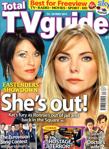 Total TV Guide 14-20 May 2011 Front Cover