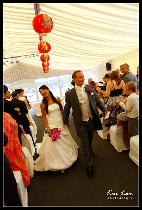 Carmen & Paul's wedding at Colwick Hall - Nottingham