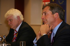 Mike Nattrass & Nigel Farage