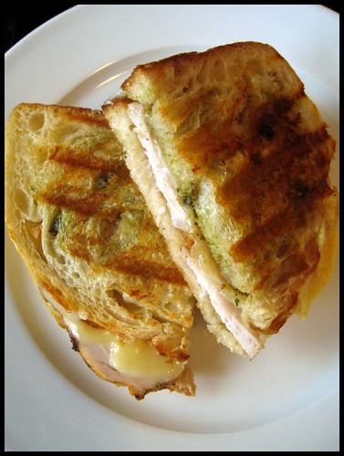 Pork Pesto Panini