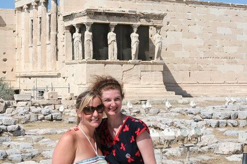 Me & Maggie at the Acropolis