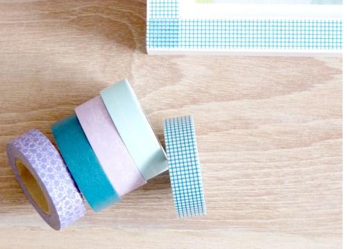 Japanese Tape DIY For Frames