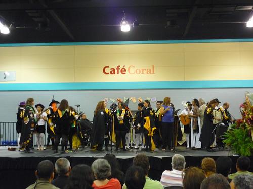 Tunos at the San Juan Book Fair
