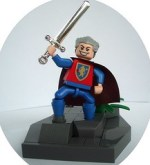 LEGO castle minifig by 74louloute