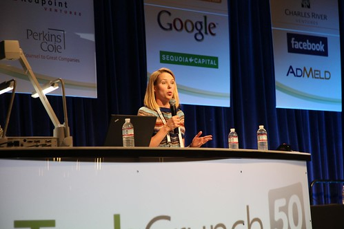 TechCrunch50 - Marissa Mayer