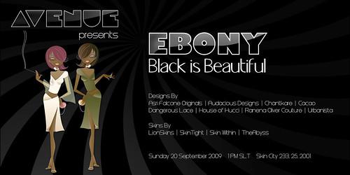 EBONY - Black is Beautiful