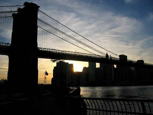 Another Brooklyn Bridge sunset. Ill never get enough of these.
