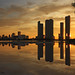 Miami sunset explosion -IV
