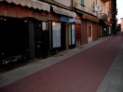 Empty street, San Marino