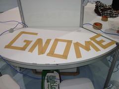Reservando o Estande do GNOME