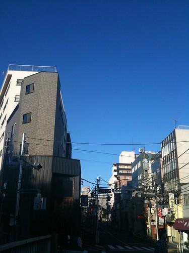 中野富士見町の朝