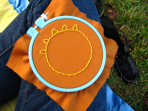 october embroidery